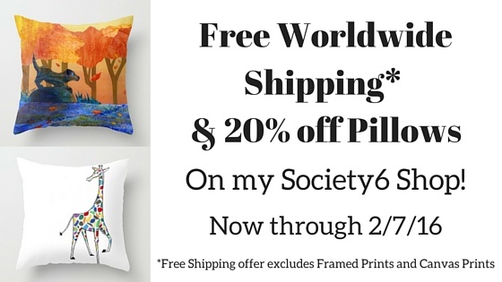 Free Shipping Worldwide & 20% Off Pillows!
