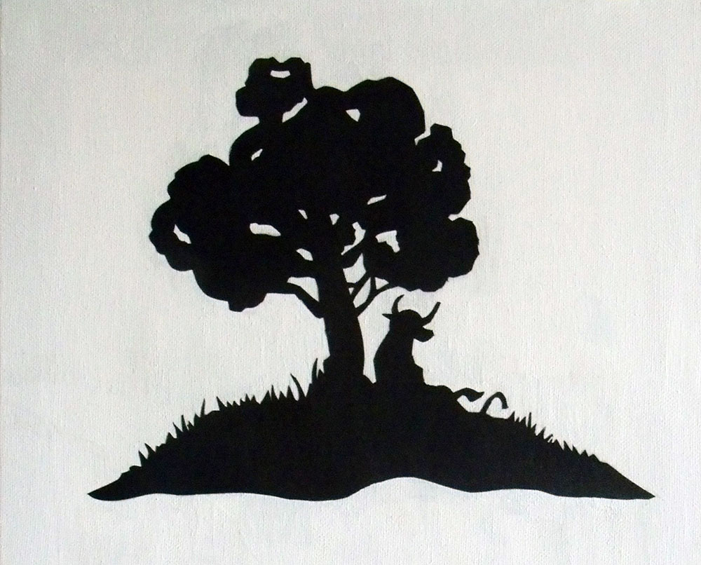 Ferdinand the Bull Custom Nursery Art
