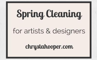 Spring Cleaning for Artists & Designers